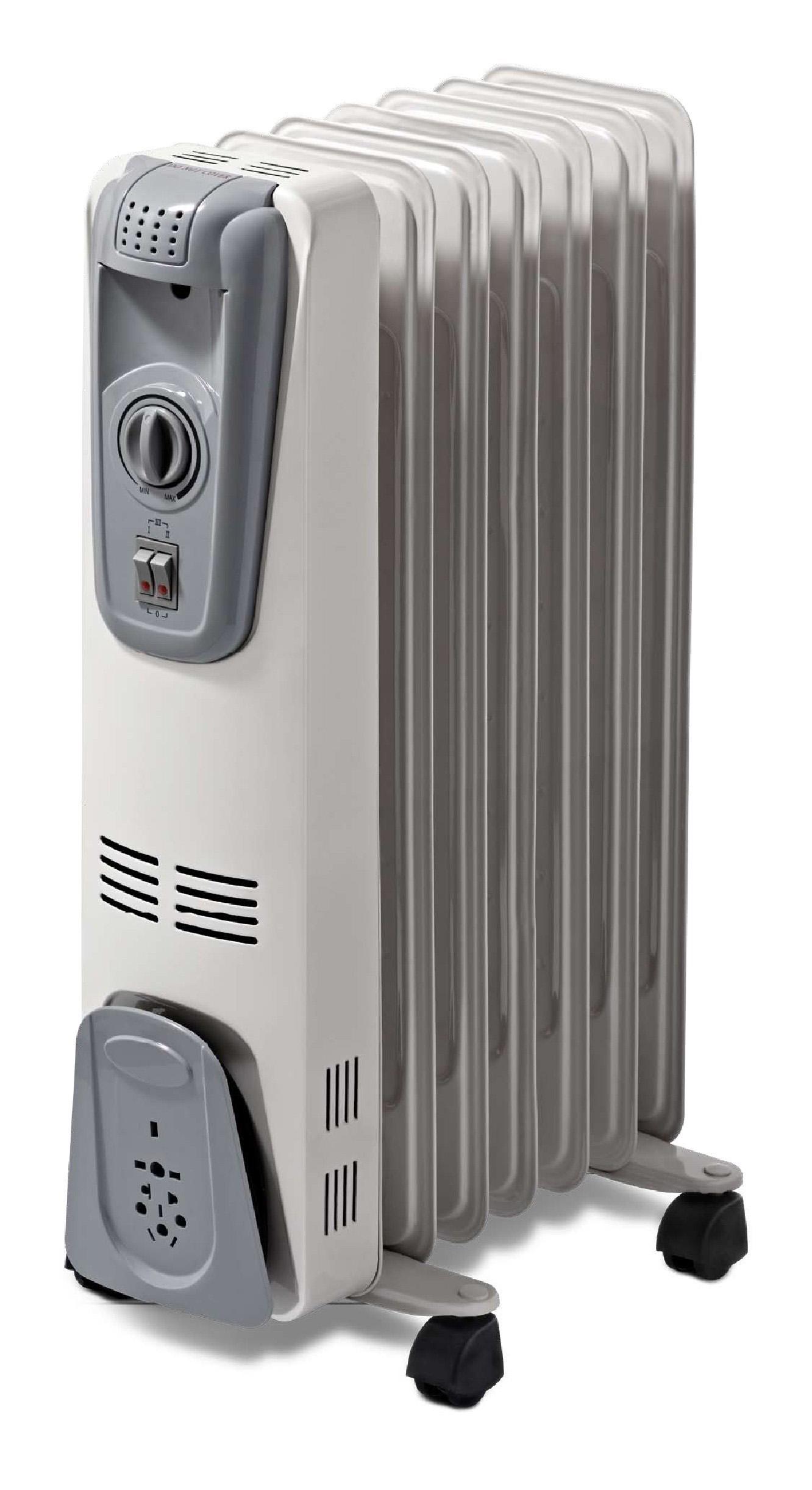 Oil Filled Radiator Heater Cyaa55 7 Soleil Heaters