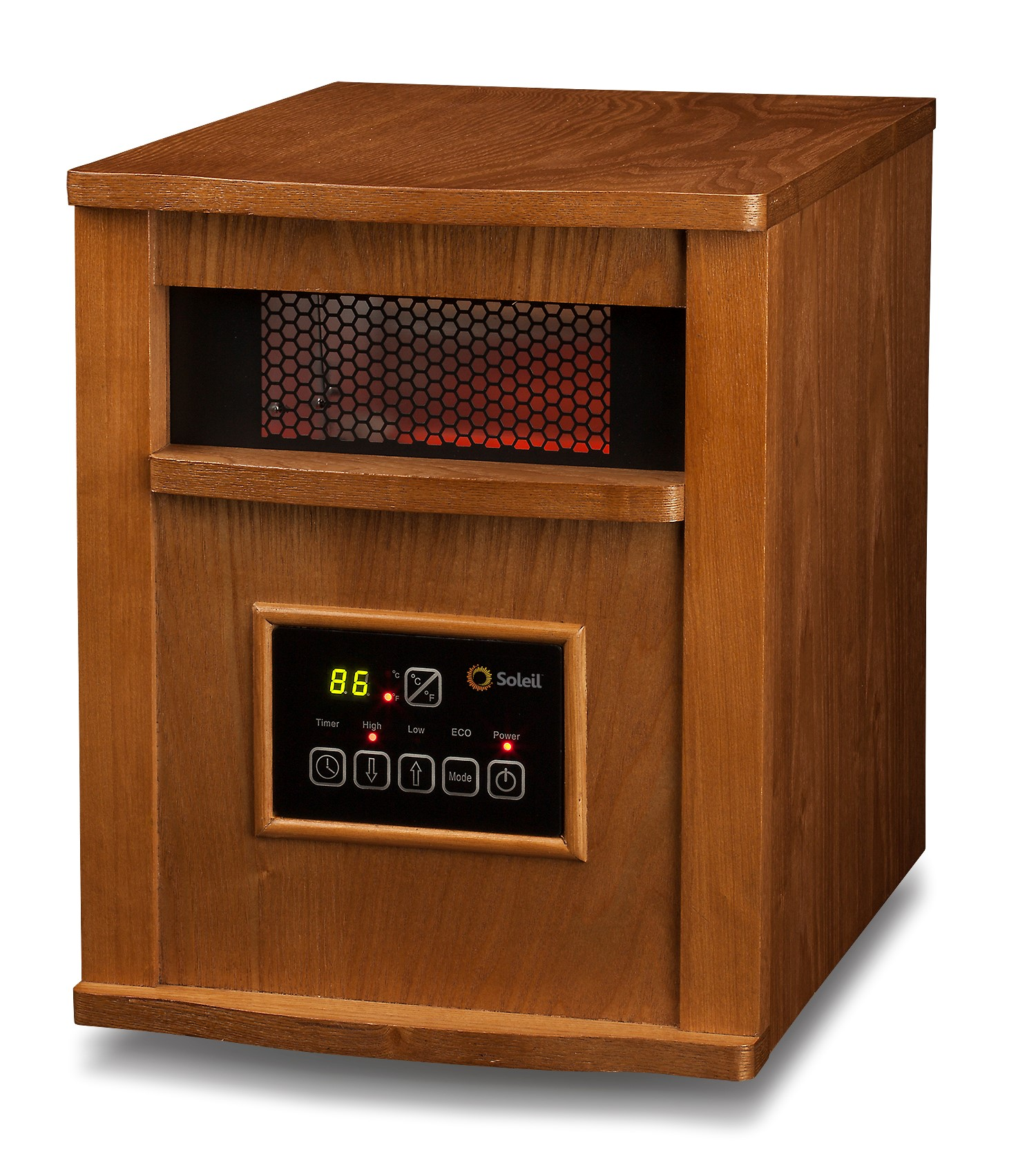 Infrared Wood Cabinet Heater WH-96H | Soleil Heaters